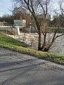 Nidda bei Hochwasser am Wehr Praunheim 24.2.2021.jpg