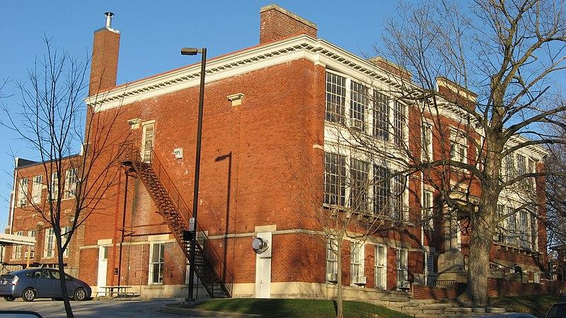 File:Ninth Street East 525, Margaret McCalla School, North Indiana Avenue HD.jpg