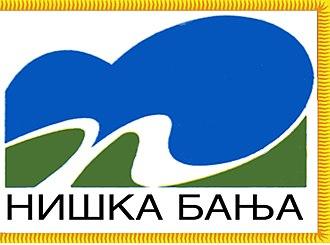 Niška Banja - Image: Niska Banja Zastava