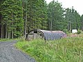 Nissen hut at Pundershaw, Wark Forest - geograph.org.uk - 212650.jpg