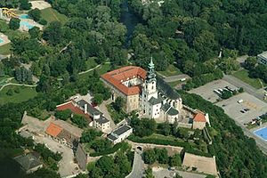 Nitra Castle - Aerial photo of Nitra Castle