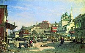 Nizhny Novgorod. Lower Bazaar