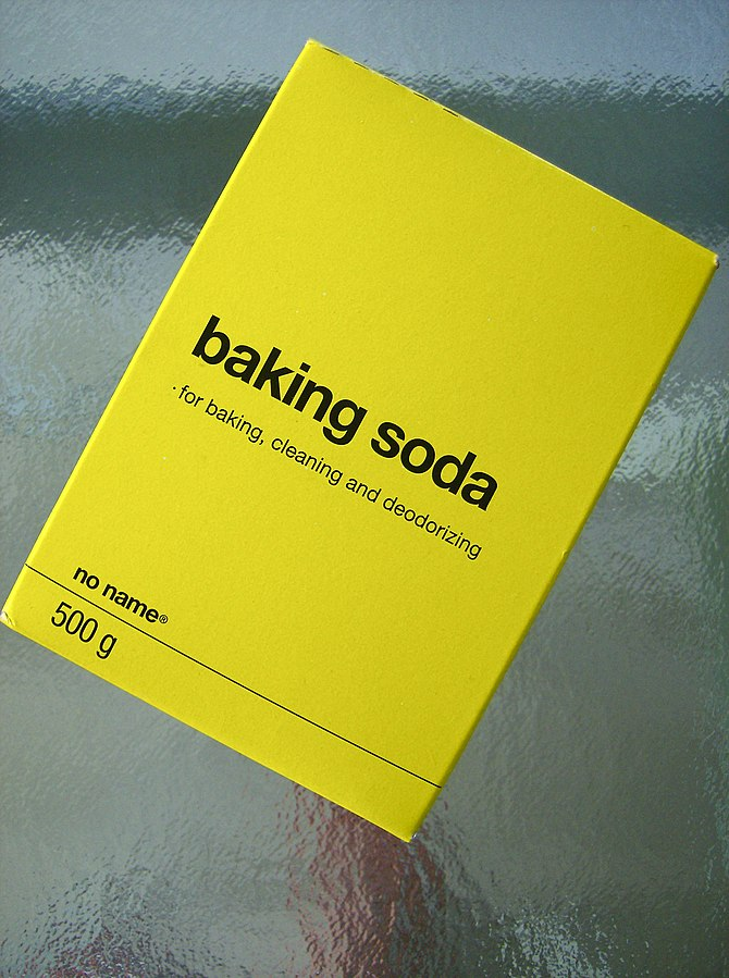 English: No name baking soda