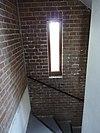 noordwijk - watertoren - trap met vertikale raam