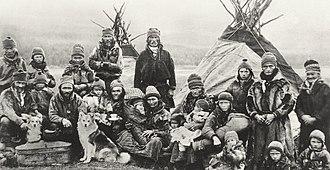 Sámi people - Sami people outside Lavvu 1900–1920
