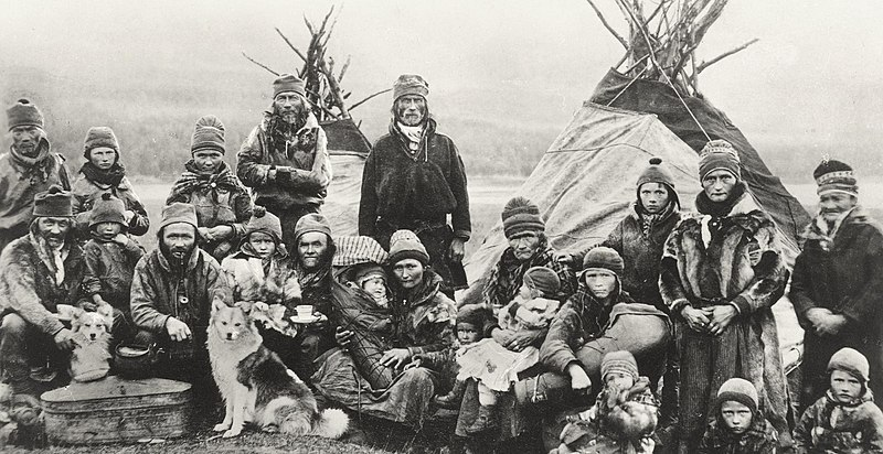 File:Nordic Sami people Lavvu 1900-1920.jpg