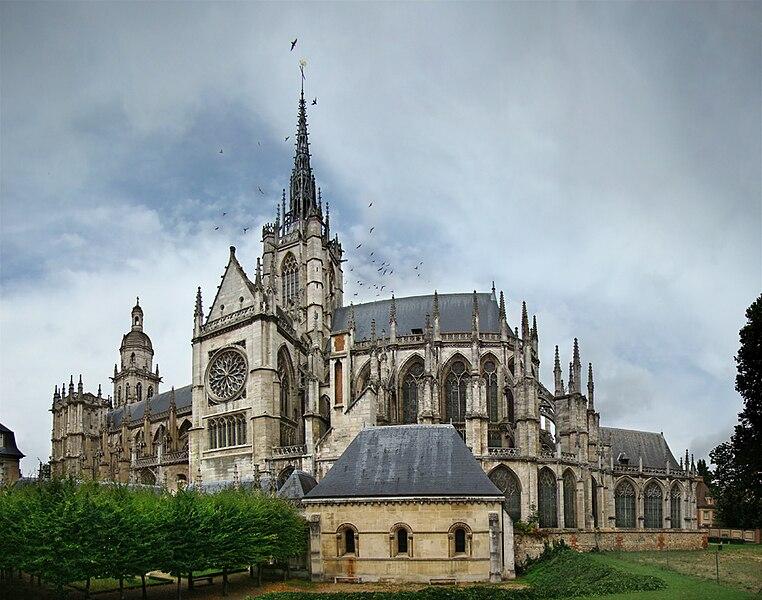Notre-Dame d'Évreux, Eure, Normandie, France.