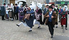 Normandy folk dance in Bricquebec 3