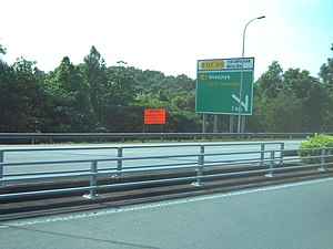 North–South Expressway (Malaysia) - Signs in the expressway