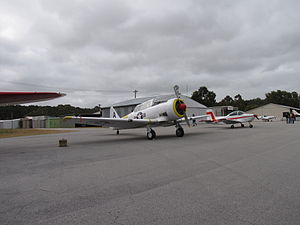 North American AT-6D Texan at Serpentine Airfield in October 2011.jpg