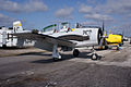 North American T-28B Trojan Navy N4698S RSideFront TICO 13March2010 (14412897128).jpg