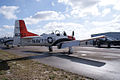 North American T-28B Trojan Navy RSideRear TICO 13March2010 (14598873172).jpg