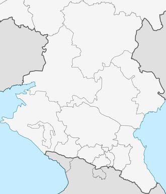 North Caucasus - Image: Northern Caucasus of European Russia