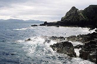 Muck, Scotland - Northern coastline