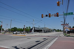 Northline Transit Center - Image: Northline TC LRT platform