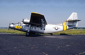 Northrop YC-125 Raider - The aircraft on display in the National Museum of the USAF. Painted to represent the YC-125B used for cold weather tests, Wright-Patterson AFB, 1950.