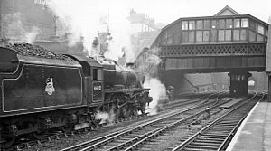 Nottingham Victoria railway station - The station in 1959
