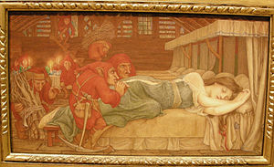 John D. Batten - Image: Nswag, john dickson batten, biancaneve e i sette nani, 1897