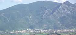 Panorama from Narcao