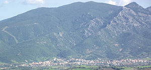 Nuxis - Panorama from Narcao