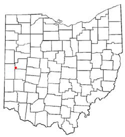 Location of Russia, Ohio