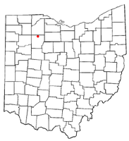 Location of Van Buren, Ohio