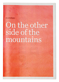 "The newsprint ""On the Other Side of the Mountains"""