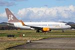 OY-JTT Boeing 737-700 Jet Time (25801025434).jpg