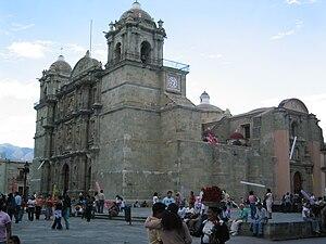 History of Oaxaca - Cathedral of Oaxaca