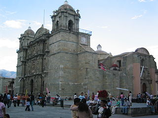 Oaxaca Cathedral Catholic Cathedral in Oaxaca, Mexico