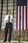 Obama makes surprise visit to Bagram Air Field 120502-F-AX764-001.jpg