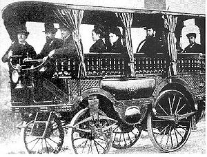 History of steam road vehicles - Amédée Bollée: L'Obéissante (1875).