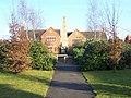 Obelisk in modern estate landscaping - geograph.org.uk - 1146134.jpg