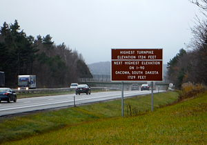Becket, Massachusetts - Image: Ocoma Sign
