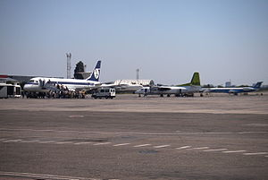 Odessa International Airport - Apron overview