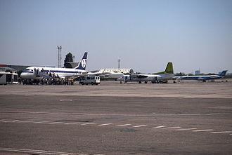 Odessa International Airport - Apron overview