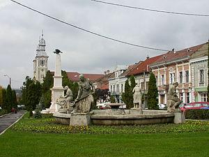 Odorheiu Secuiesc - Image: Odorheiu Secuiesc Piata Primariei