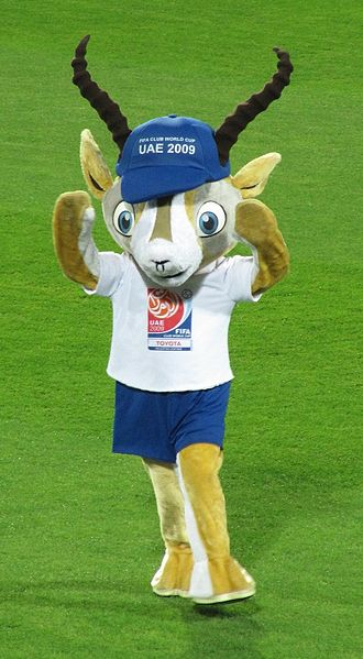 2009 FIFA Club World Cup - Official mascot of the tournament