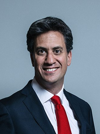 Ed Miliband - Image: Official portrait of Edward Miliband crop 2