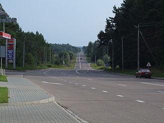 Lithuania–Poland border - Former border crossing Ogrodniki–Lazdijai