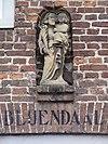 oirschot rijksmonument 31309 klooster nieuwstraat 28 gevelbeeld st.joseph met kind