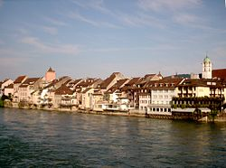 Old-Town of Rheinfelden with the Rhein.JPG