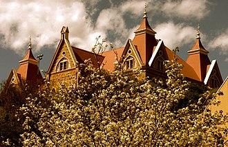 Old Main (Texas State University) - Old Main, originally called Main Building