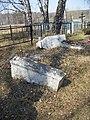 Old gravestones on Batayki graveyard - panoramio.jpg