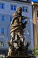 Olomouc - Horní náměstí - View North on Herkulova kašna 1688 by Michael Mandík from Gdansk.jpg