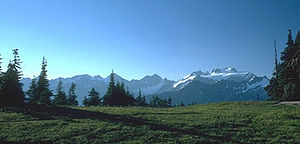 Olympic Mountains - Mount Olympus