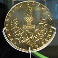 Olympic gold medal, Nova Peris, 1996, reverse.jpg