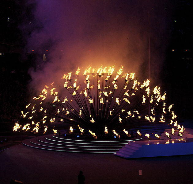 File:Olympics Closing Ceremony - Extinguishing of the Cauldron (2).jpg