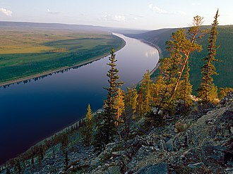 Sakha Republic - Olyokma River.