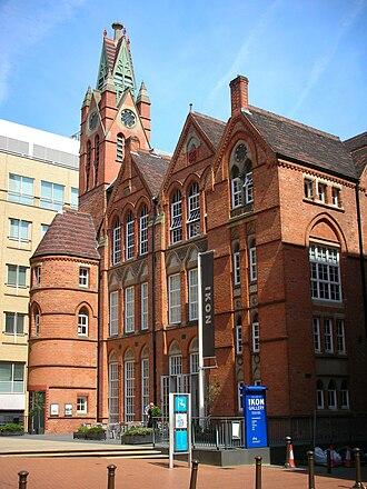 Birmingham board school - Oozells Street Board School - Ikon Gallery